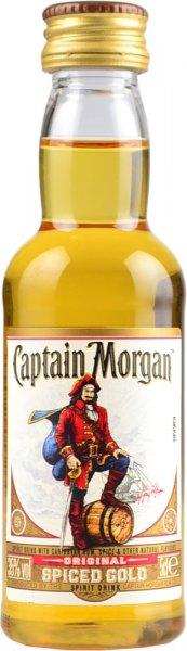 Captain Morgan Spiced Gold Rum Miniature 5cl