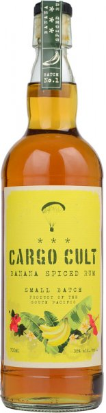 Cargo Cult Banana Spiced Rum 70cl
