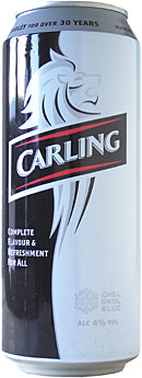 Carling Lager 440ml CAN
