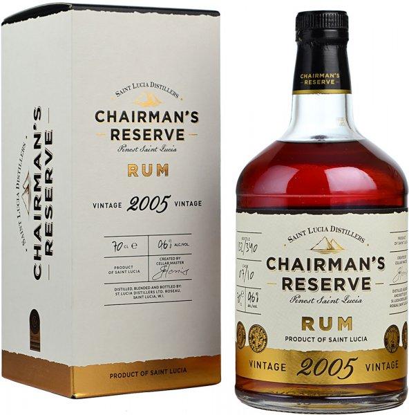 Chairmans Reserve 2005 Vintage Rum 70cl