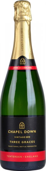 Chapel Down Three Graces English Sparkling Wine 2013/2015 75cl