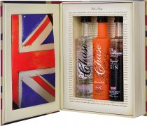Chase Vodka Brand Book Trio Gift Set 3 x 5cl