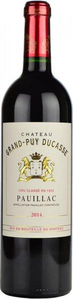 Chateau Grand Puy Ducasse, 5eme Cru Classe 2014 75cl