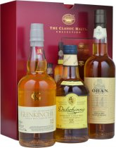Classic Malts Gentle Collection (Red) 3 x 20cl