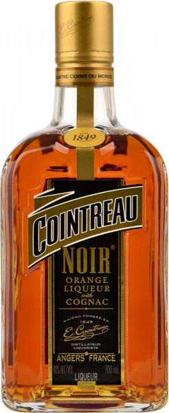 Cointreau Noir Orange Liqueur with Cognac 70cl