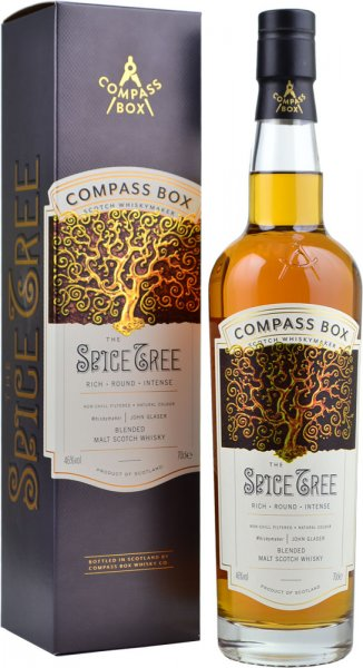 Compass Box The Spice Tree Blended Malt Whisky 70cl