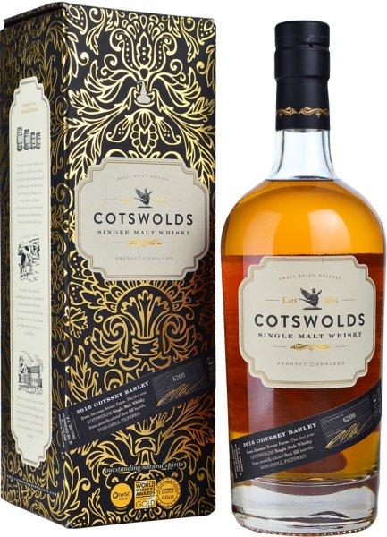 Cotswolds Odyssey Barley 2016 Single Malt Whisky 70cl