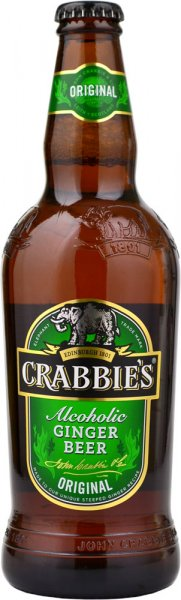 Crabbies Alcoholic Ginger Beer 500ml Bottle
