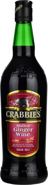 Crabbies Ginger Mulled Wine 70cl