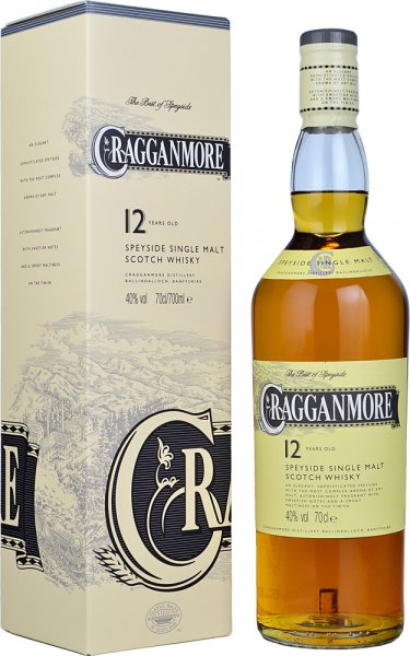 Cragganmore 12 Year Old 70cl