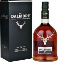 Dalmore 15 Year Old Single Malt Scotch Whisky 70cl