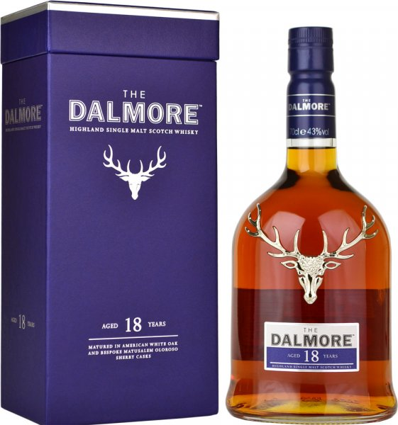 Dalmore 18 Year Old Single Malt Scotch Whisky 70cl
