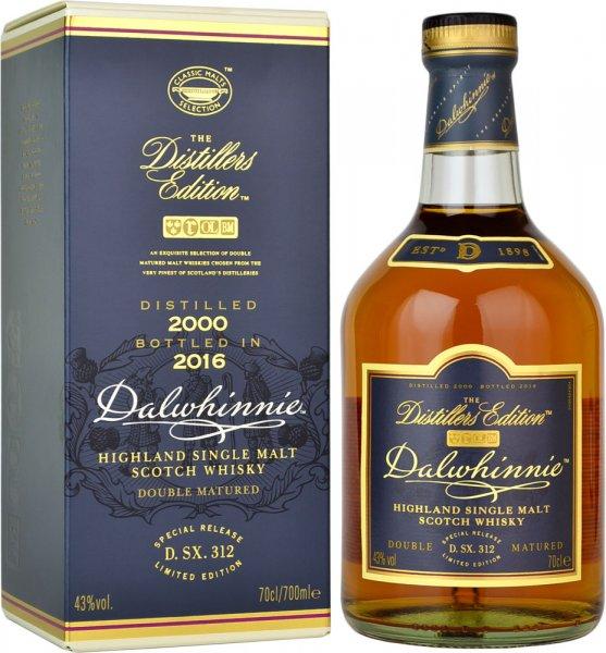 Dalwhinnie Distillers Edition 2000 (Bottled 2016) Single Malt Whisky 70cl