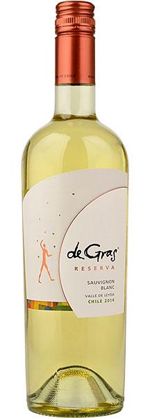De Gras Sauvignon Blanc Reserva (Vina MontGras) 2017 75cl
