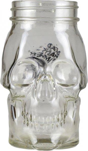 Dead Mans Fingers Glass Skull Jar