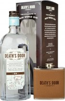 Deaths Door Gin 70cl Gift Set with Hip Flask