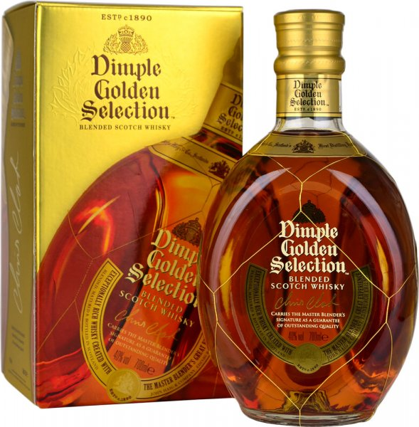 Dimple Golden Selection Blended Scotch Whisky 70cl
