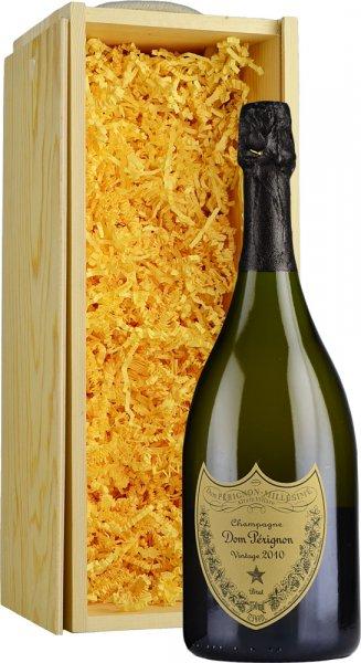 Dom Perignon Vintage 2010 Champagne 75cl in Wood Box (SL)