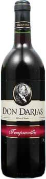 Don Darias Tempranillo 75cl