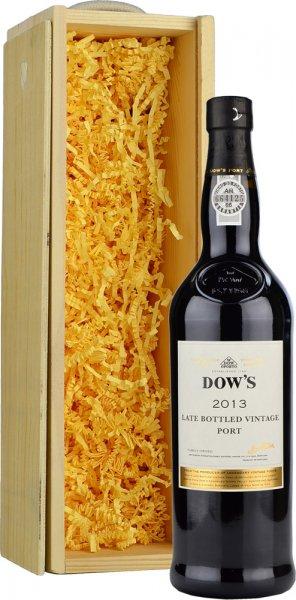 Dows Late Bottled Vintage Port 75cl in Wood Box (SL)