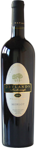 Drylands Marlborough Merlot 2005 75cl