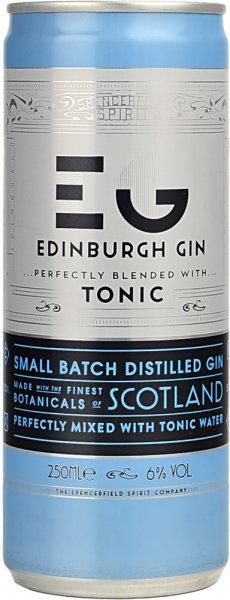 Edinburgh Gin & Tonic Can 250ml