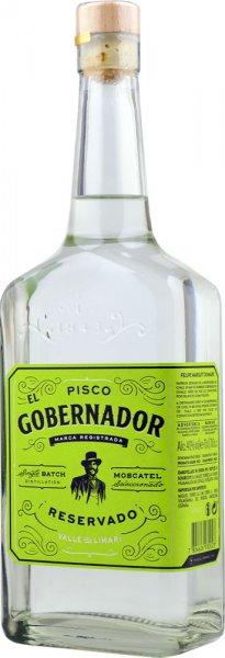 El Gobernador Pisco Reservado 70cl