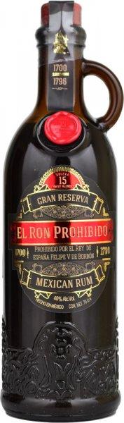 El Ron Prohibido Gran Reserva Solera 15 Rum 70cl