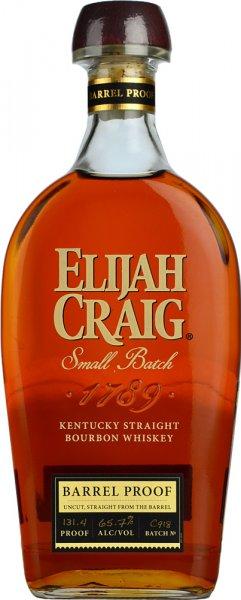 Elijah Craig 12 Year Old Barrel Proof Bourbon 65.7% ABV 70cl