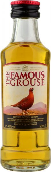 Famous Grouse Whisky Miniature 5cl