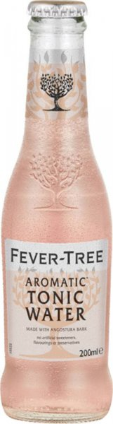 Fever Tree Aromatic Tonic Water 200ml Bottle