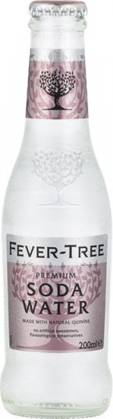 Fever Tree Premium Soda Water 24pk (200ml NRB)