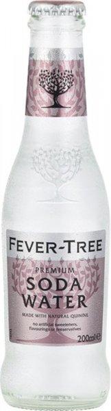 Fever Tree Premium Soda Water 200ml NRB
