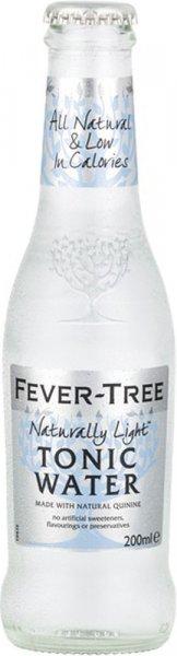Fever Tree Refreshingly Light Tonic Water 200ml NRB