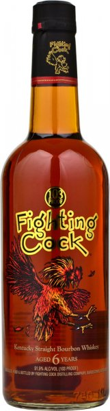 Fighting Cock Old Kentucky Straight Bourbon Whiskey 70cl