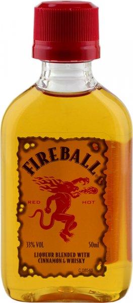 Fireball Cinnamon Whisky Liqueur Miniature 5cl