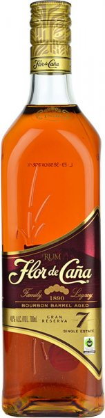 Flor de Cana 7 Year Old Grand Reserva Rum 70cl