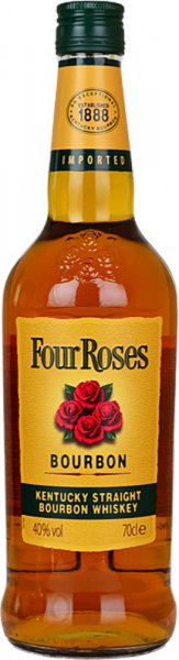 Four Roses Yellow Label Kentucky Straight Bourbon Whiskey 70cl
