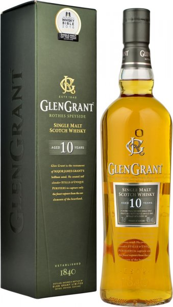Glen Grant 10 Year Old Single Malt Scotch Whisky 70cl