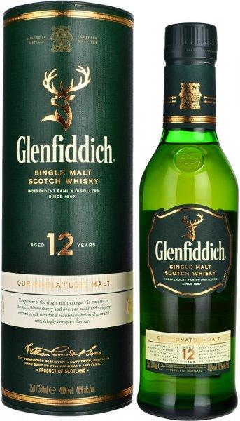 Glenfiddich 12 Year Old (Half Bottle) 35cl