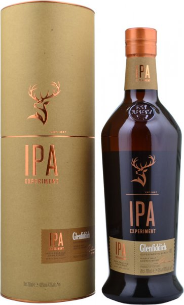 Glenfiddich IPA Cask Finish Single Malt Whisky 70cl - Experimental Series #01
