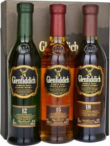Glenfiddich Tasting Collection Gift Pack 3 x 20cl
