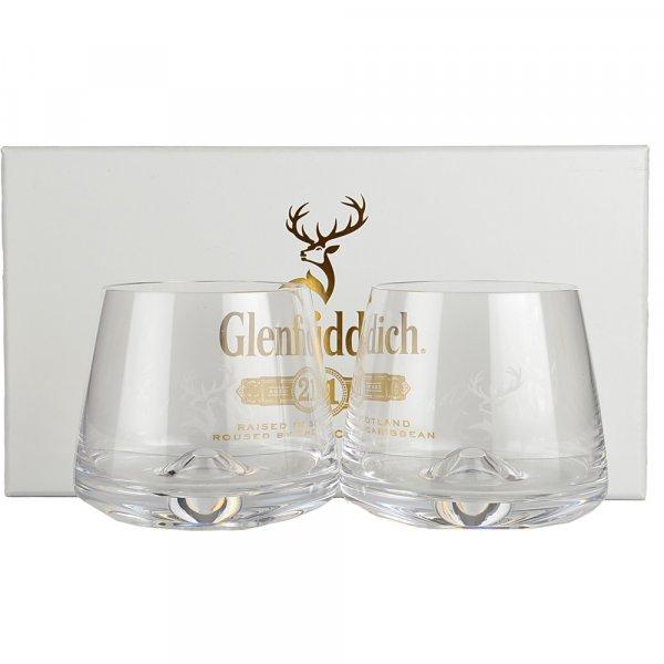 Glenfiddich Whisky 2 Glasses Gift Pack