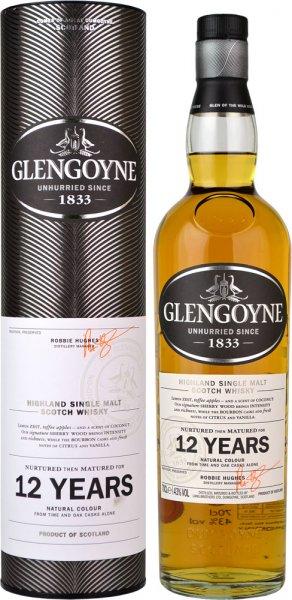 Glengoyne 12 Year Old Single Malt Scotch Whisky 70cl