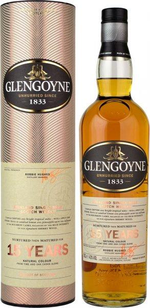 Glengoyne 15 Year Old Single Malt Scotch Whisky 70cl