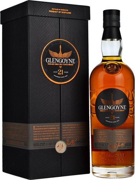Glengoyne 21 Year Old Single Malt Scotch Whisky 70cl