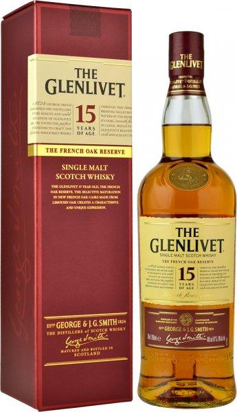Glenlivet 15 Year Old French Oak Reserve 70cl