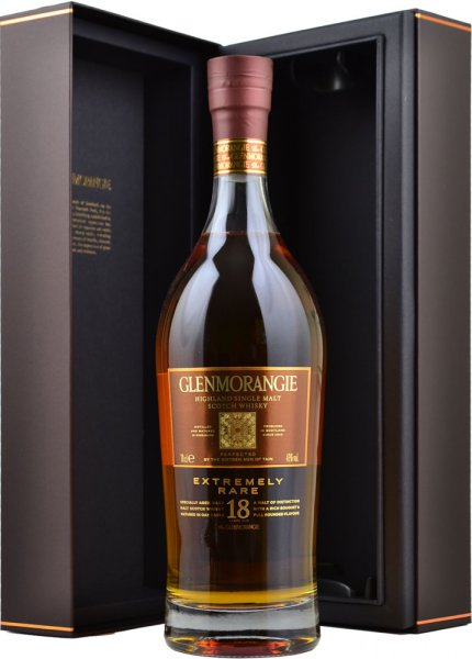Glenmorangie 18 Year Old Extremely Rare 70cl