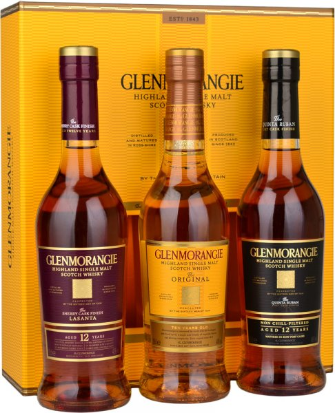Glenmorangie Explorer Collection Gift Pack 3x35cl