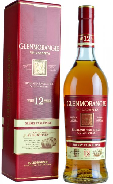 Glenmorangie Lasanta 12 Year Old (Sherry Cask) 70cl